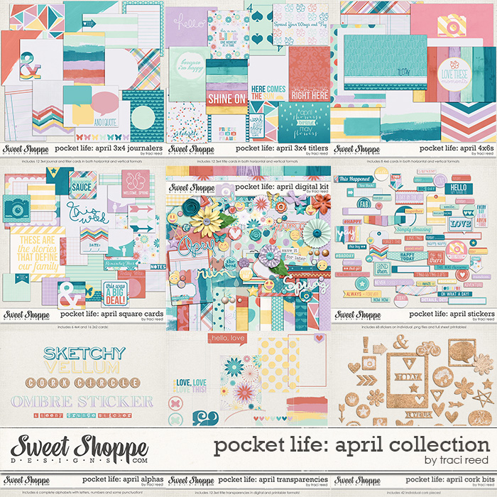 Pocket Life: April Collection by Traci Reed