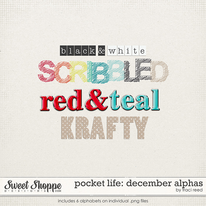 Pocket Life: December Alphas by Traci Reed