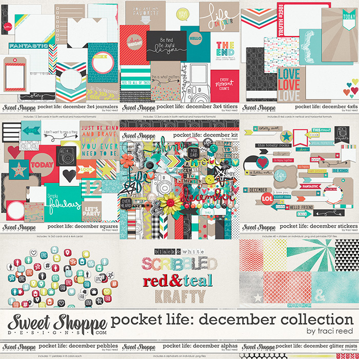 Pocket Life: December Collection by Traci Reed