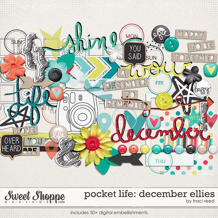 Pocket Life: December Digital Ellies by Traci Reed