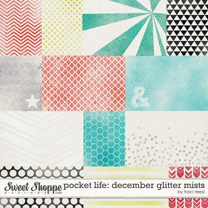 Pocket Life: December Glitter Mists by Traci Reed