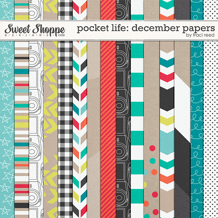 Pocket Life: December Papers by Traci Reed