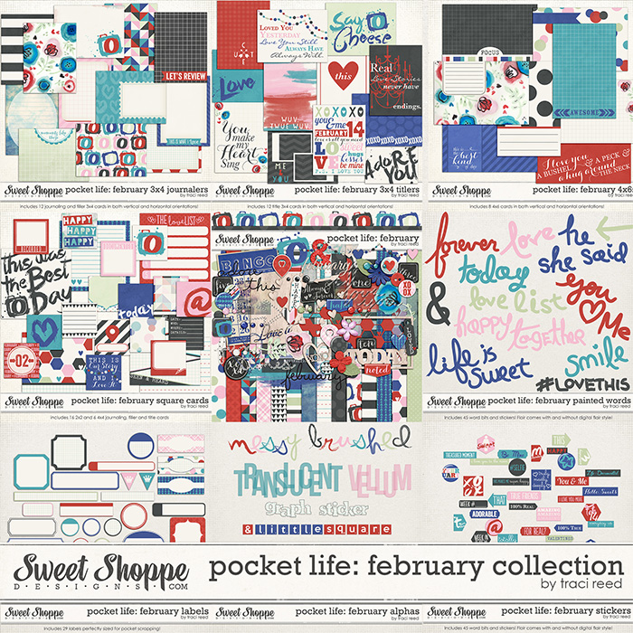 Pocket Life: February Collection by Traci Reed