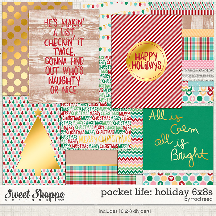 Pocket Life: Holiday 6x8s by Traci Reed