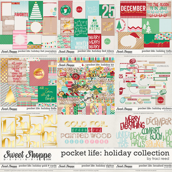 Pocket Life: Holiday Collection by Traci Reed