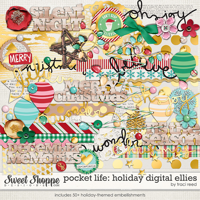 Pocket Life: Holiday Ellies by Traci Reed