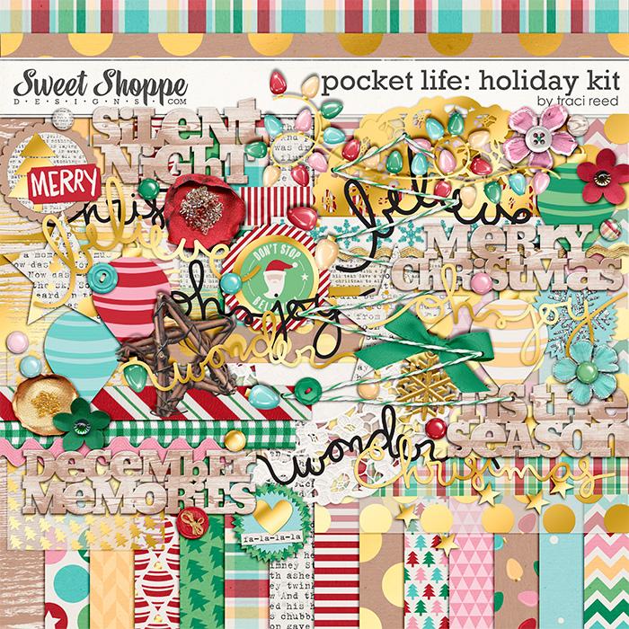 Pocket Life: Holiday Digital Kit by Traci Reed