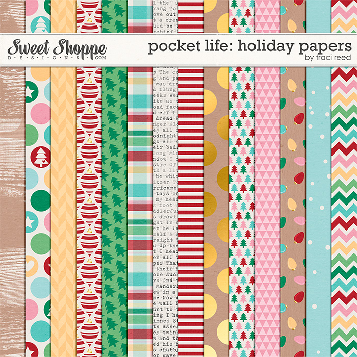Pocket Life: Holiday Papers by Traci Reed