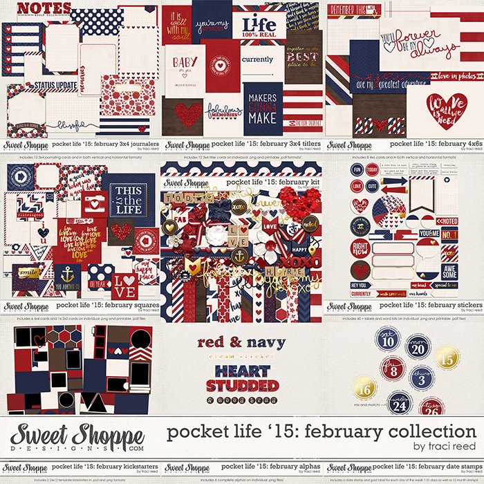 Pocket Life '15: February Collection by Traci Reed