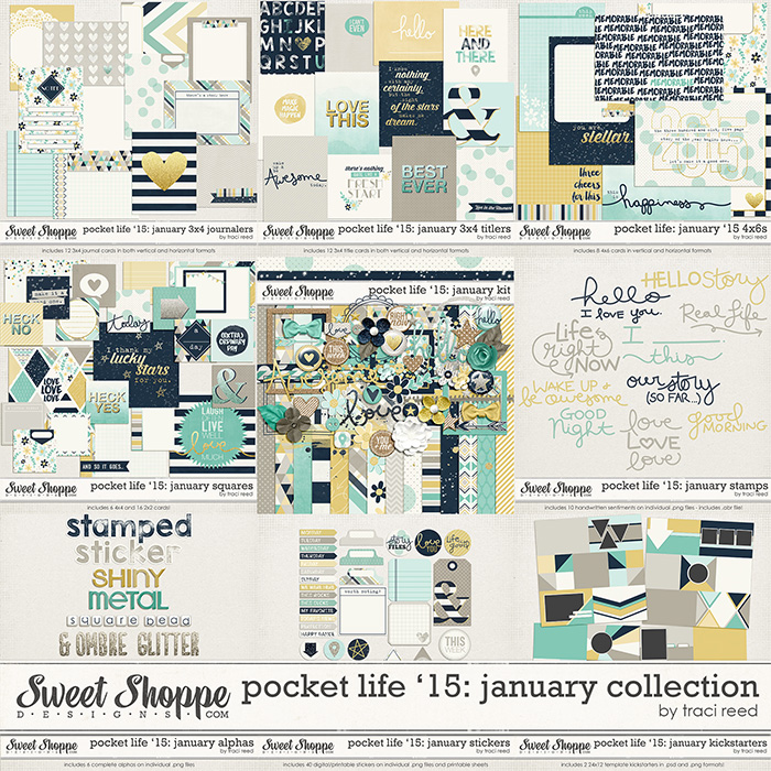 Pocket Life '15: January Collection by Traci Reed
