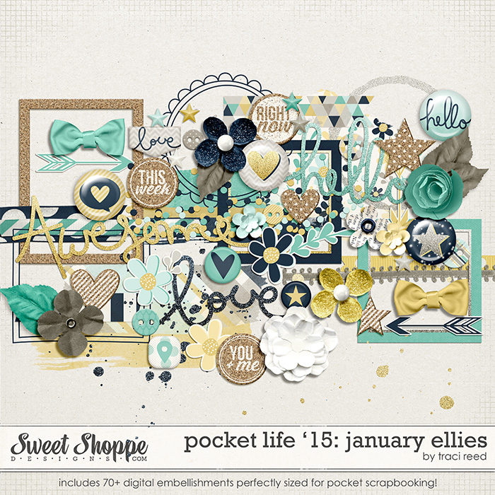 Pocket Life '15: January Ellies by Traci Reed