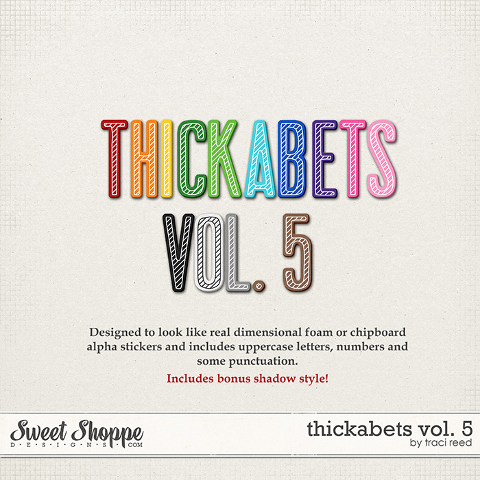 Thickabets Vol. 5 by Traci Reed