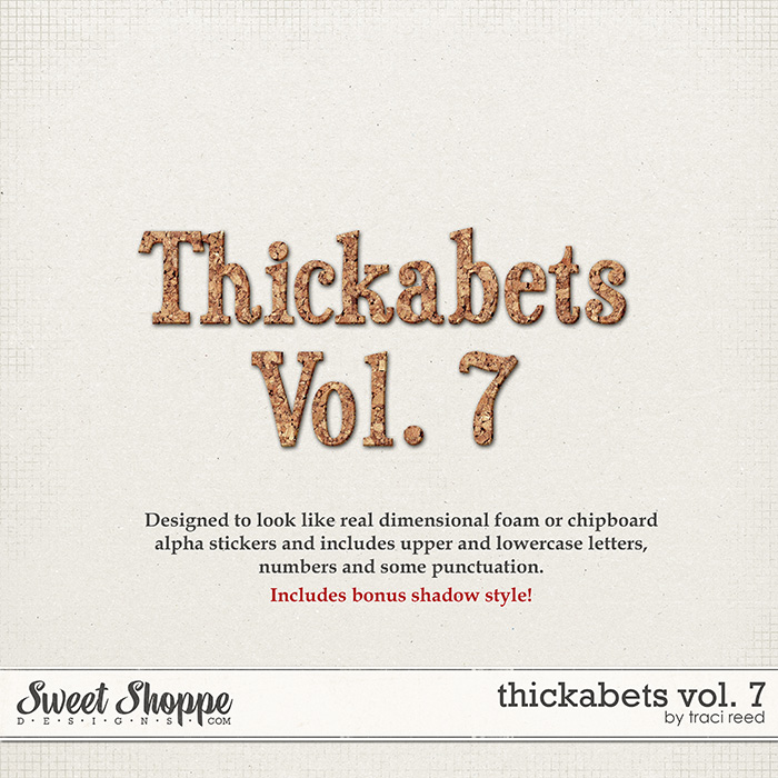 Thickabets Vol. 7 by Traci Reed