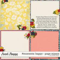 #Moments: Happy - Page Mixers by Amber Shaw