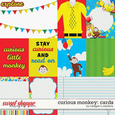 Curious Monkey: Cards by Meagan's Creations