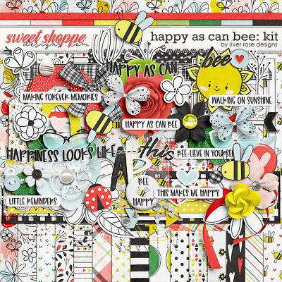 Happy As Can Bee: Kit by River Rose Designs