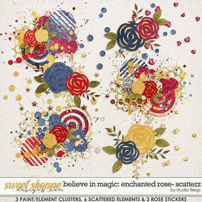 Believe in Magic: ENCHANTED ROSE- SCATTERZ by Studio Flergs