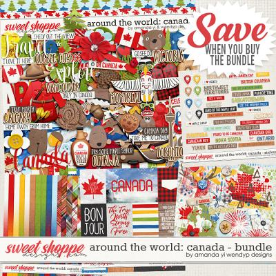 Around the world: Canada - Bundle by Amanda Yi & WendyP Designs