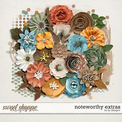 Noteworthy Extras by LJS Designs