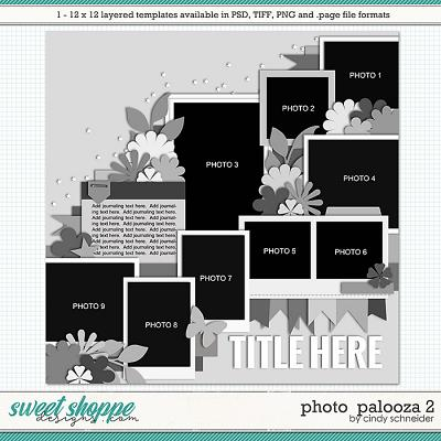 Cindy's Layered Templates - Photo Palooza 2 by Cindy Schneider