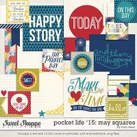 Pocket Life '15: May Squares by Traci Reed