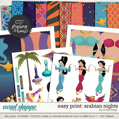 Remember the Magic: ARABIAN NIGHTS- EZ PRINT by Studio Flergs