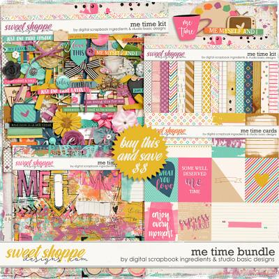 Me Time Bundle by Digital Scrapbook Ingredients and Studio Basic