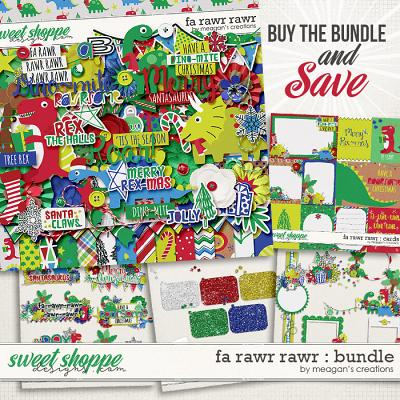 Fa Rawr Rawr : Bundle by Meagan's Creations