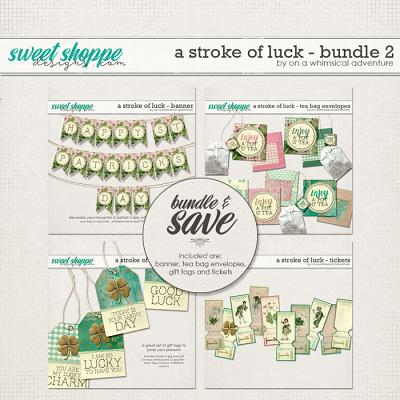 A Stroke Of Luck Bundle 2 by On A Whimsical Adventure