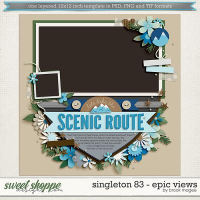 Brook's Templates - Singleton 83 - Epic Views by Brook Magee