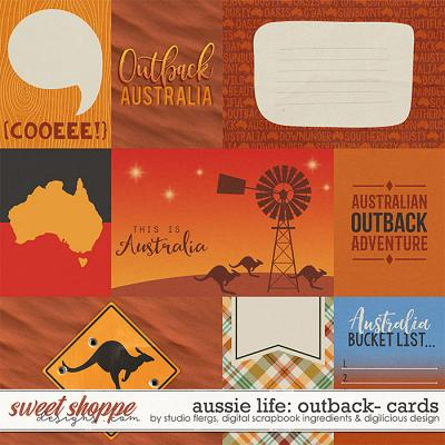 Aussie Life: Outback- CARDS by Digilicious, DSI & Flergs
