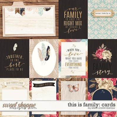 This is Family: Cards by Kristin Cronin-Barrow