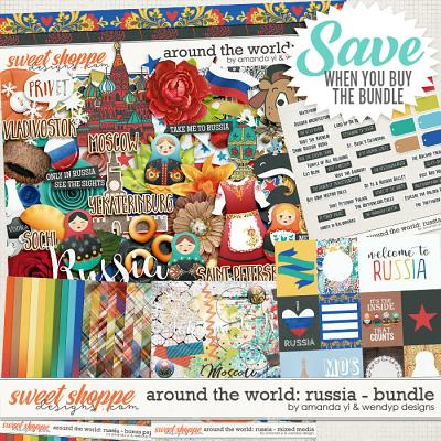 Around the world: Russia - Bundle by Amanda Yi & WendyP Designs