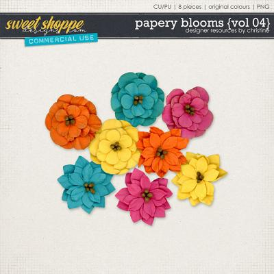 Papery Blooms {Vol 04} by Christine Mortimer