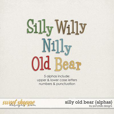 Silly Old Bear Alphas by Ponytails