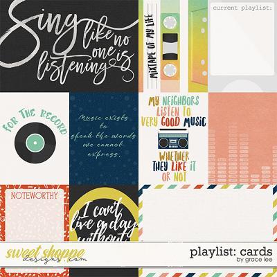 Playlist: Cards by Grace Lee