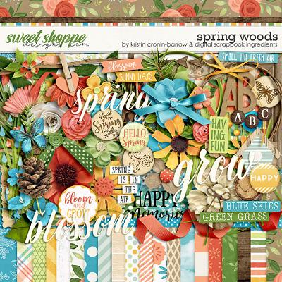 Spring Woods by Kristin Cronin-Barrow & Digital Scrapbook Ingredients