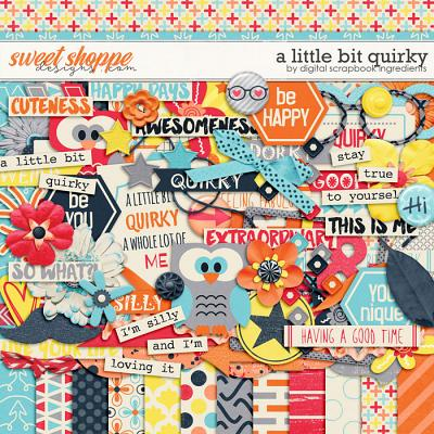 A Little Bit Quirky by Digital Scrapbook Ingredients