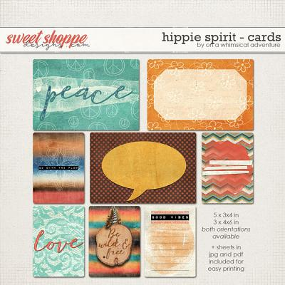 Hippie Spirit Journal Cards by On A Whimsical Adventure