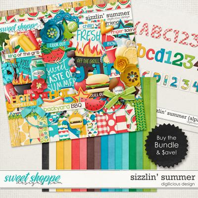 Sizzlin' Summer {Bundle} by Digilicious Design