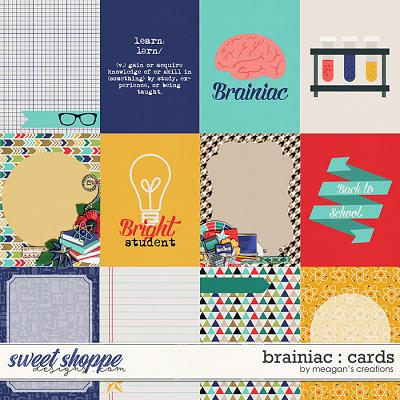 Brainiac : Cards by Meagan's Creations