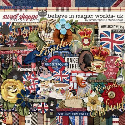 Believe in Magic: Worlds United Kingdom by Amber Shaw & Studio Flergs