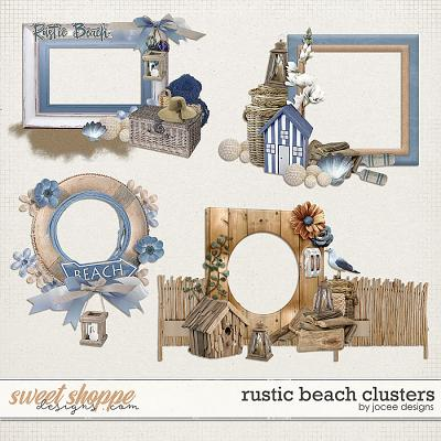 Rustic Beach Clusters by JoCee Designs