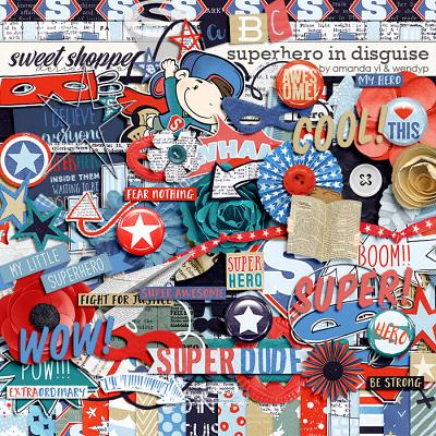 Superhero in disguise by Amanda Yi & WendyP Designs
