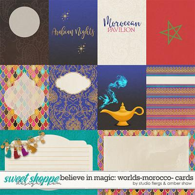 Believe in Magic: Worlds - Morocco Cards by Amber Shaw & Studio Flergs