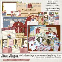 Sticky Learnings: Summer Reading Funny Farm by Heather Roselli & Rebecca Kuchenbecker