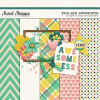 You Are Awesome by Digital Scrapbook Ingredients