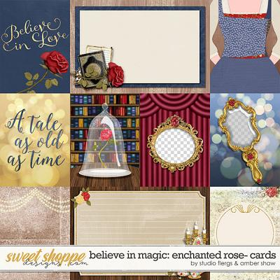 Believe In Magic: Enchanted Rose Cards by Amber Shaw & Studio Flergs