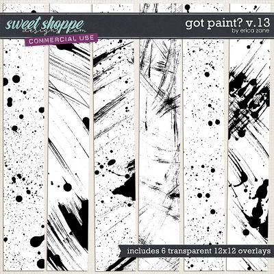 Got Paint? v.13 by Erica Zane