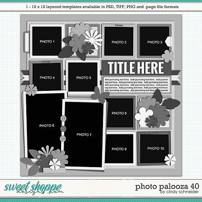 Cindy's Layered Templates - Photo Palooza 40 by Cindy Schneider